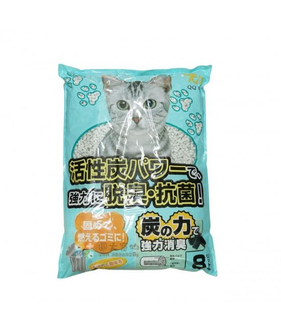 QQ 活性碳紙貓砂 8L