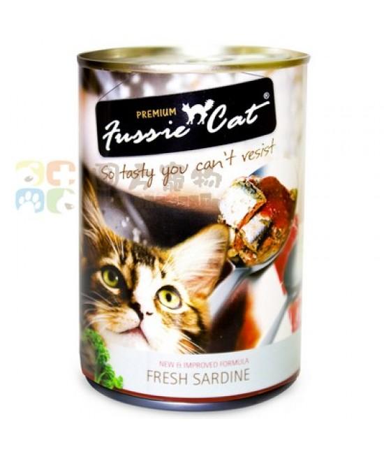 Fussie Cat 高竇貓 新鮮沙甸魚貓罐頭 - 400g