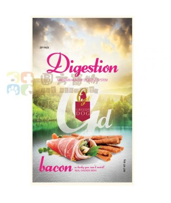 Greedy Dog 消化促進狗小食(煙肉) - 80g