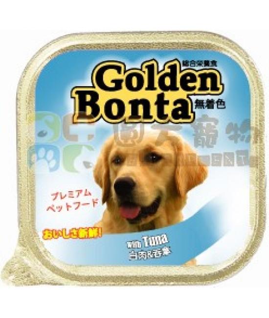 Golden Bonta 白吞拿魚狗罐頭 - 100g