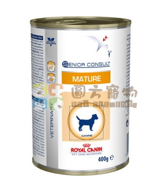 Royal Canin 法國皇家獸醫營養系列 VCN Mature 狗罐頭 400g, 獸醫產品, Royal Canin 法國皇家