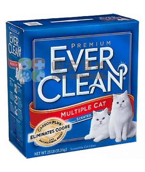Ever Clean 紅帶多貓用特香配方 (25lbs)