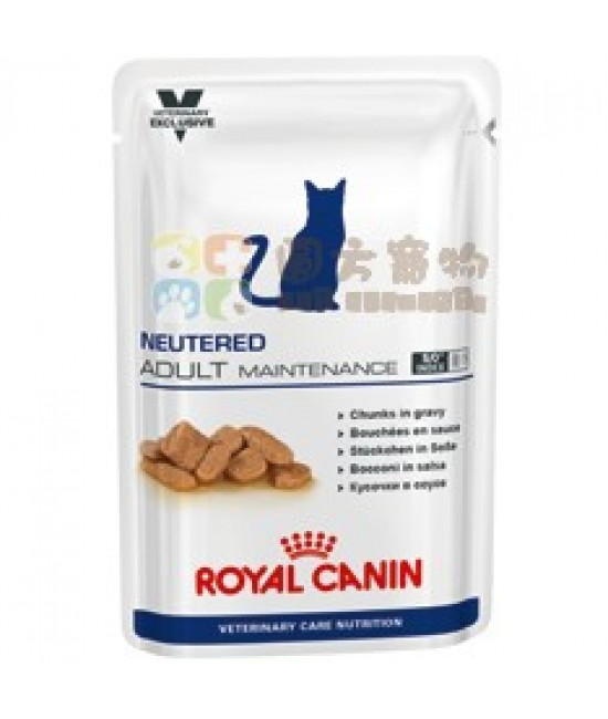 Royal Canin 法國皇家獸醫營養系列 VCN Neutered Adult Maintenance 貓濕糧 100g