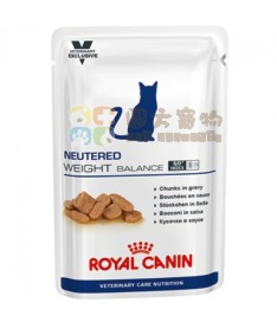 Royal Canin 法國皇家獸醫營養系列 VCN Neutured Weight Balance 貓濕糧 100g
