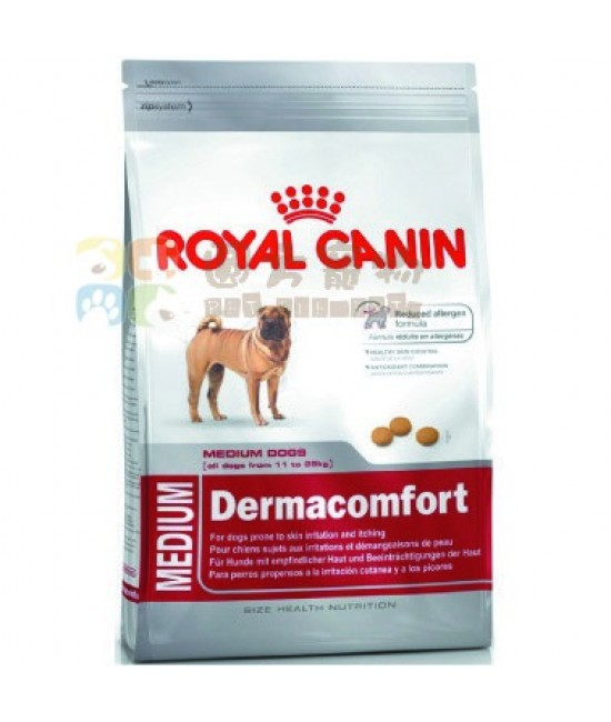 Royal Canin 法國皇家 中型犬皮膚敏感成犬 (DCME) 狗糧, 狗狗產品, Royal Canin 法國皇家