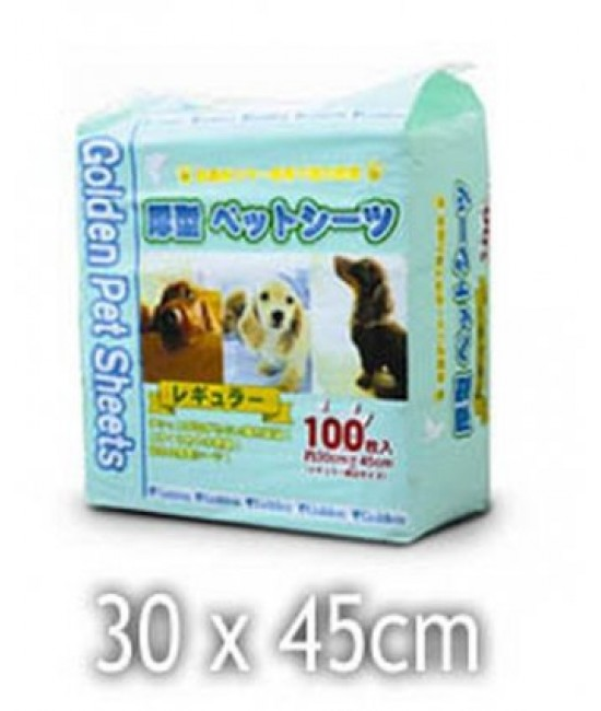 Golden Pet Sheet 厚型尿片 (S) 30 x 45 - 100's