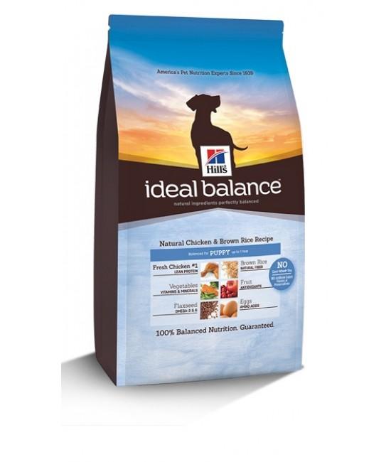 Hill's Ideal Balance 天然配方雞肉及糙米幼犬糧