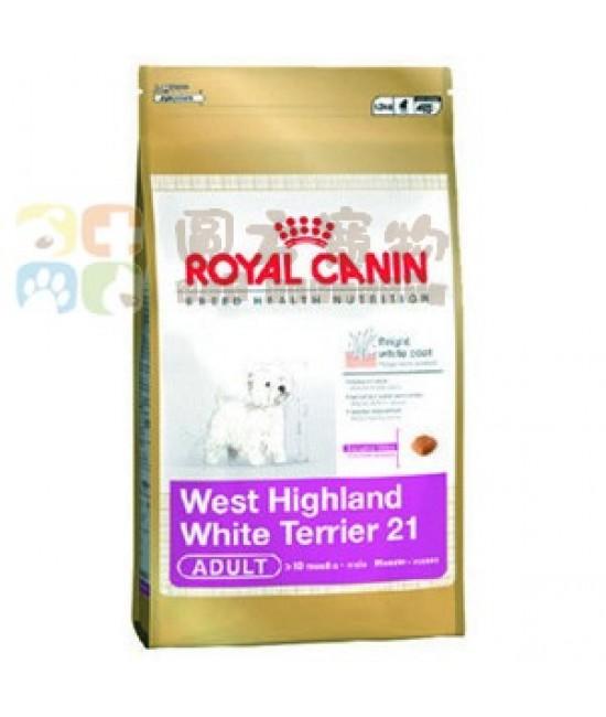 Royal Canin 法國皇家 西高地白爹利犬狗糧(WH21) - 1.5kg, 狗狗產品, Royal Canin 法國皇家