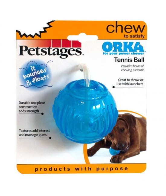 Petstages Orka Tennie Ball, 狗狗產品, Petstages