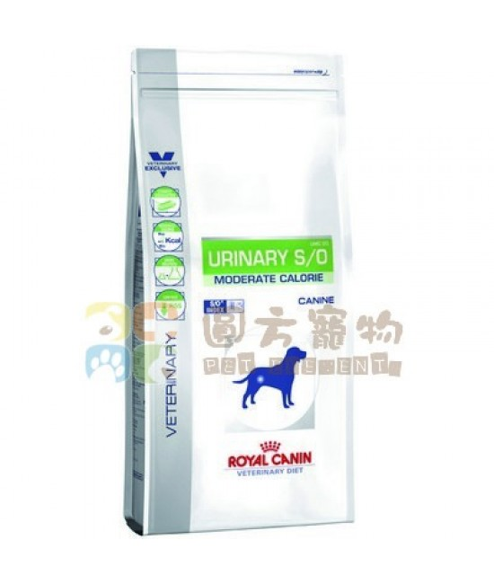 Royal Canin 法國皇家 獸醫處方Urinary S/O Moderate Calorie (UMC20) 狗糧12kg