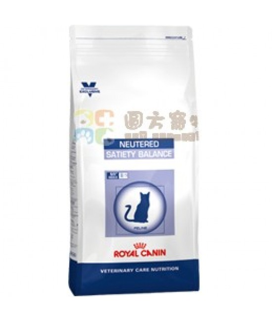 Royal Canin 法國皇家獸醫營養系列VCN Neutered Satiety Balance 貓乾糧