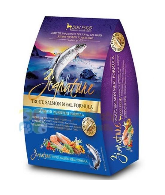 Zignature 鱒魚和三文魚配方狗糧